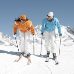 Skifahren im Winter im Lungau