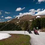 Motorradfahrer in Salzburg