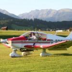 Ein Flug über die Alpen - Fotos: Flugplatz Mauterndorf